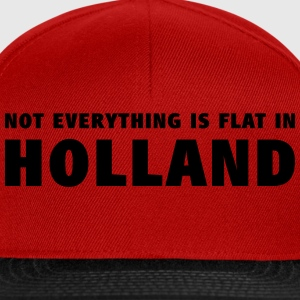 Not everything is flat in Holland T-shirts - Snapback cap