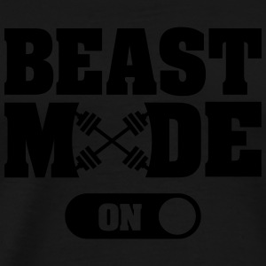 Beast Activated Singlets - Premium T-skjorte for menn