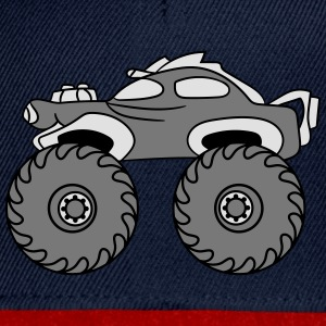 faster turbo cooler small monster truck T-Shirts - Snapback Cap