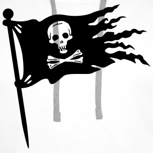 pirates flag T-Shirts - Men's Premium Hoodie