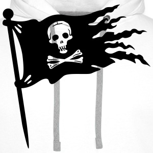 pirates drapeau Tee shirts - Sweat-shirt à capuche Premium pour hommes
