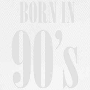 BORN IN THE 90S Baby Bodysuits - Baseball Cap