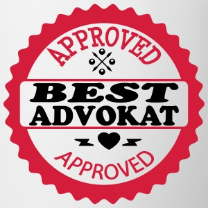 Approved best advokat T-skjorter - Kopp