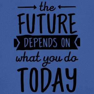 The Future Depends On What You Do Today Kopper & tilbehør - Pustende T-skjorte for menn