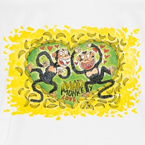 Mad Monkey Love Tops - Männer Premium T-Shirt