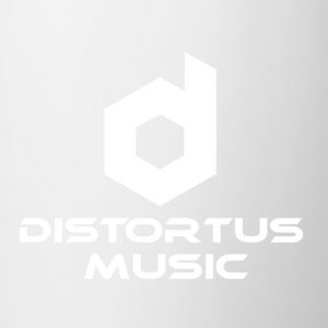 Distortus Logo Black T-shirt - Mok tweekleurig