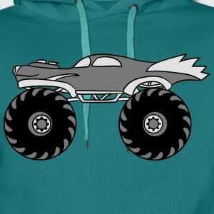 small cool monster truck turbo T-Shirts - Men's Premium Hoodie