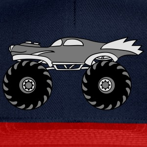 mindre kyla monster truck turbo T-shirts - Snapbackkeps
