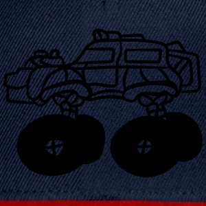 cool liten monster truck T-shirts - Snapbackkeps