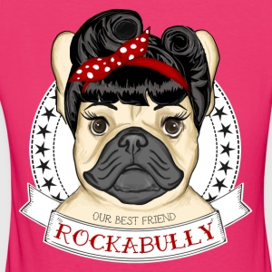 Rockabully Girl Pullover & Hoodies - Frauen Bio-T-Shirt