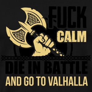 Viking - Die in battle and go to valhalla Manches longues - T-shirt Premium Homme