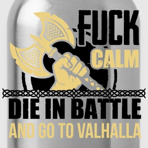 Viking - Die in battle and go to valhalla T-shirts - Drikkeflaske