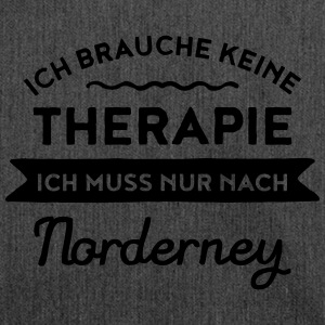 Therapie - Norderney T-Shirts - Schultertasche aus Recycling-Material