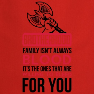 Viking - Family isn't always blood T-shirts - Forklæde