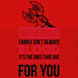 Viking - Family isn't always blood Camisetas - Camiseta de manga larga premium mujer
