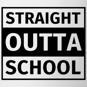 straight outta school T-Shirts - Mug