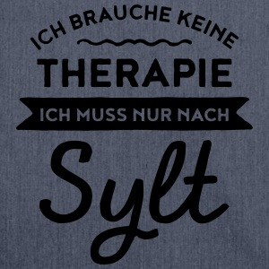 Therapie - Sylt T-Shirts - Schultertasche aus Recycling-Material