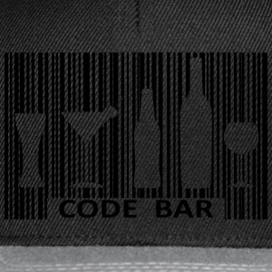 Code bar Tee shirts - Casquette snapback