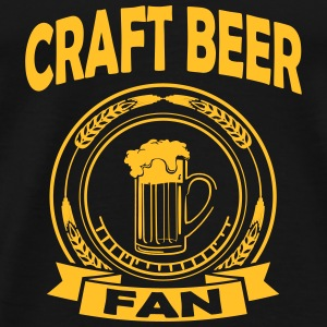 craft beer fan Toppar - Premium-T-shirt herr