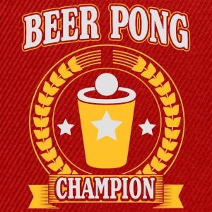 beerpong Tee shirts - Casquette snapback
