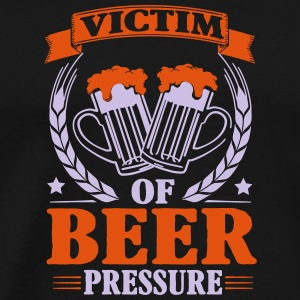 Victim of beer pressure Tank Tops - Men's Premium T-Shirt