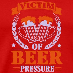 Victim of beer pressure Singlets - Premium T-skjorte for menn