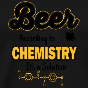 Beer is a solution Tanktoppar - Premium-T-shirt herr