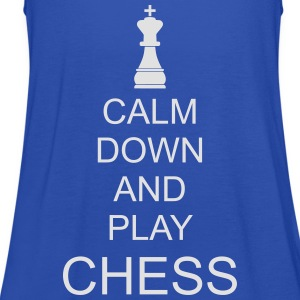 Keep calm and play chess - Women's Tank Top by Bella
