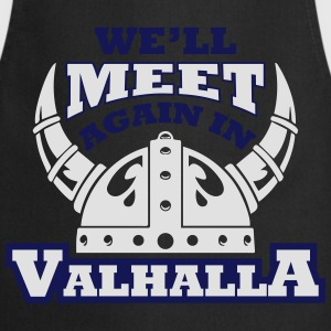Viking - We'll meet again in valhalla T-skjorter - Kokkeforkle