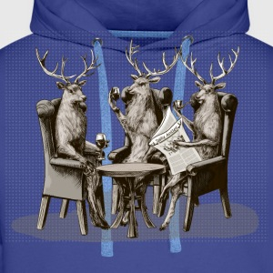 Stag Party T-Shirts - Men's Premium Hoodie