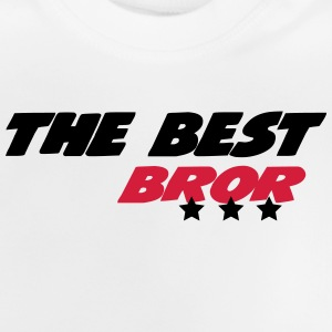 The best bror Skjorter - Baby-T-skjorte