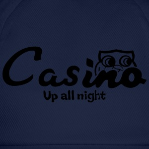 Casino up all night - Baseball Cap