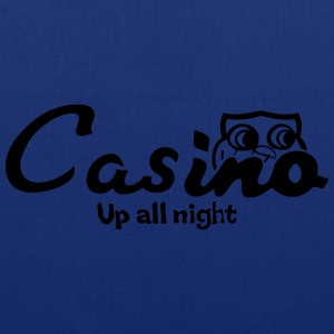 Casino up all night - Tote Bag