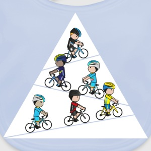 Mini-Team-Climbers Shirts - Baby Organic Bib