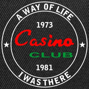 Casino club I was there - Snapback Cap
