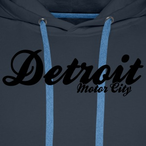 Detroit Motor City - Men's Premium Hoodie