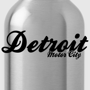 Detroit Motor City - Water Bottle