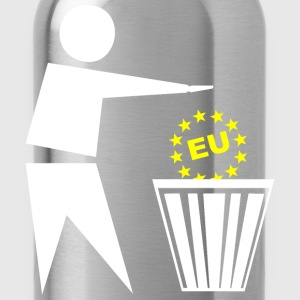 Put the eu in the basket - Water Bottle