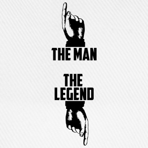the man the legend T-shirts - Baseballcap
