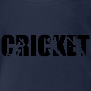 Cricket T-Shirts - Baby Bio-Kurzarm-Body
