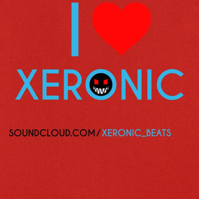 I Love Xeronic   Apron