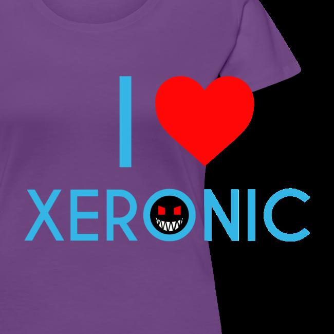 I Love Xeronic   T-Shirt