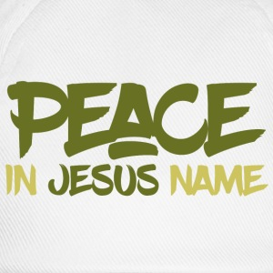 Peace in Jesus name Tops - Baseballkappe