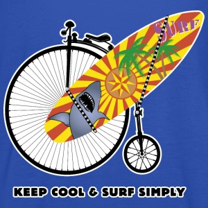 Keep Cool and Surf Simply - Débardeur Femme marque Bella