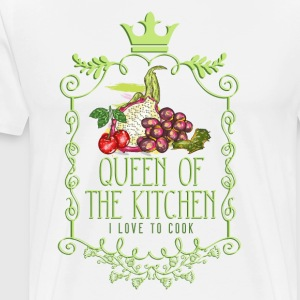 queen_of_the_kitchen_02201601 Schürzen - Männer Premium T-Shirt