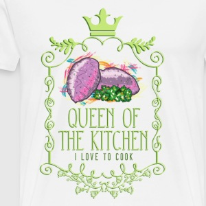 queen_of_the_kitchen_02201608 Schürzen - Männer Premium T-Shirt