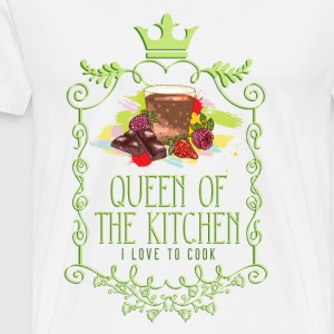 queen_of_the_kitchen_02201604 Schürzen - Männer Premium T-Shirt