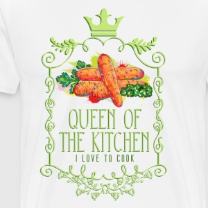 queen_of_the_kitchen_02201603 Schürzen - Männer Premium T-Shirt