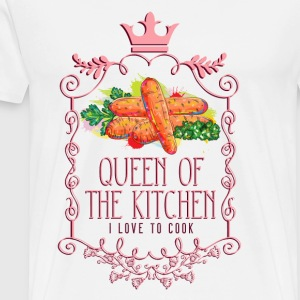 queen_of_the_kitchen_02201621 Schürzen - Männer Premium T-Shirt