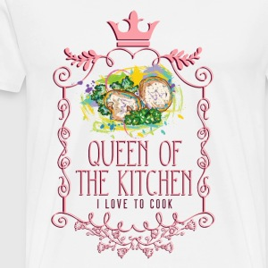 queen_of_the_kitchen_02201620 Schürzen - Männer Premium T-Shirt